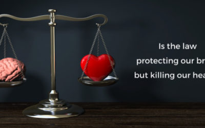 Is the law protecting our brains, but killing our hearts?